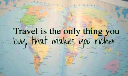Banner for travel blog